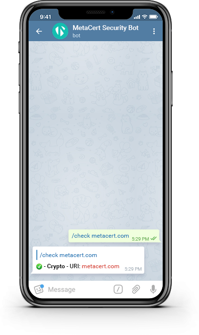 Chat with Telegram Bot